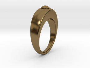 Ø16.51 Egg Ring/Ø0.650 inch Model B in Polished Bronze
