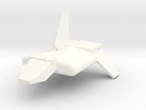 Imperial Transport Shuttle in White Processed Versatile Plastic