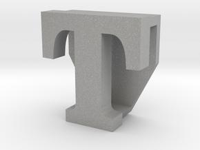 BandBit T2, Fitbit Flex (Fits parallel to strap.) in Aluminum