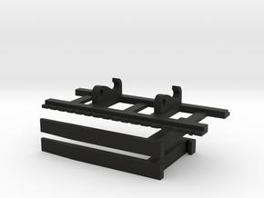 Shovel L150 en Caterpillar 966 palletvorken in Black Natural Versatile Plastic