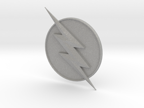 Reverse Flash CW Logo in Aluminum