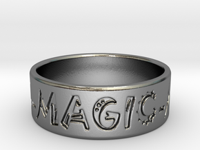 Magic Ring in Polished Silver