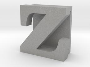 BandBit Z, Fitbit Flex (Fits parallel to strap.) in Aluminum
