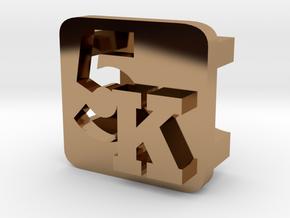 BandBit 5K for Fitbit Flex in Polished Brass