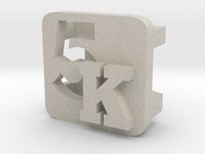 BandBit 5K for Fitbit Flex in Natural Sandstone