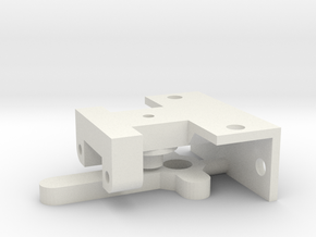 Point Mechanism - Horizontal in White Natural Versatile Plastic