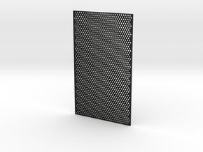 3mm Honeycomb Sheet 3mm Thick in Black Natural Versatile Plastic