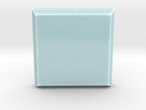 Celadon Selfie Tile III (2x2 Beveled Edge) in Gloss Celadon Green Porcelain