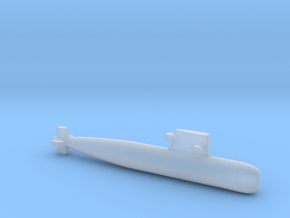 PLA[N] 039G Submarine, Full Hull, 1/2400 in Smooth Fine Detail Plastic
