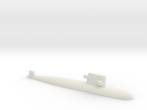PLA[N] 039G Submarine, 1/2400 in White Natural Versatile Plastic
