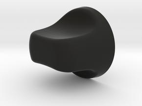 Fan/Light Knob in Black Natural Versatile Plastic