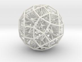 Geometric Shape Mht3dd 167 3cm in White Strong & Flexible