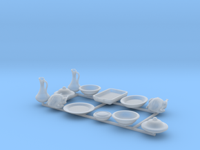 Feast Ware -Serving Set in Smooth Fine Detail Plastic