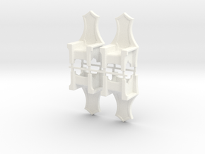 Chair Inn X4 in White Processed Versatile Plastic