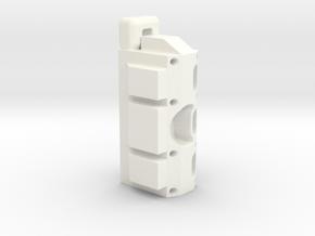 ESB FT Base Block in White Processed Versatile Plastic
