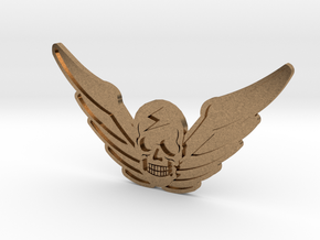 M.Bison Hat Detail - Street Fighter in Natural Brass