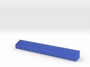 Scrabble Tile Rack (Personalized - Hollow) in Blue Processed Versatile Plastic