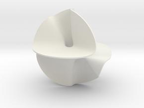 Quartic surface in White Natural Versatile Plastic