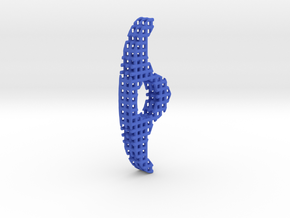 Page Keeper Lattice in Blue Processed Versatile Plastic