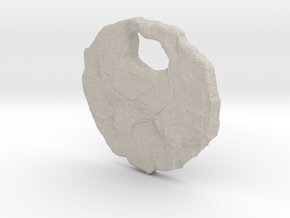 Rocky pendant in Natural Sandstone
