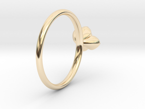 Succulent Stacking Ring No. 1 in 14K Yellow Gold: 5 / 49