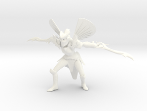 Dota2 Legion Commander (proof of concept) in White Processed Versatile Plastic