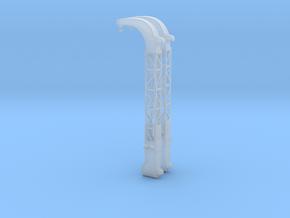 Britannic Gantry Davits - Scale 1:350 in Smoothest Fine Detail Plastic