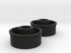 Kyosho Mini-Z Front Wheel +2 Offset in Black Strong & Flexible