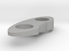 Top Piece - Left - Solid 7.5 Deg in Raw Aluminum
