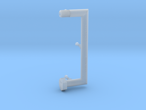 Punctuation - Brackets in Smooth Fine Detail Plastic