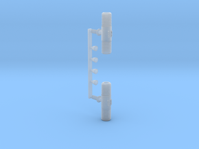 Punctuation - Broken Bar (Pipe) in Smooth Fine Detail Plastic