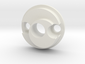 E-11 Barrel Tip in White Natural Versatile Plastic