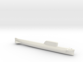 Hotel-Class SSBN, Full Hull, 1/2400 in White Natural Versatile Plastic