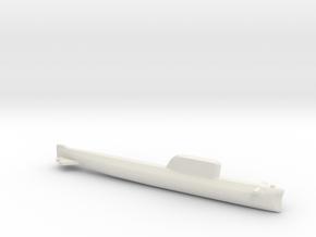 Hotel-Class SSBN, Full Hull, 1/2400 in White Natural Versatile Plastic