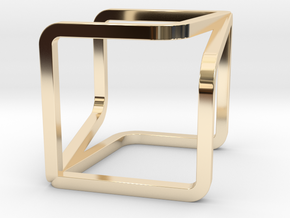 YOUCUBE Charms. Pure Elegance. in 14K Yellow Gold