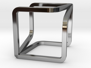 YOUCUBE Charms. Pure Elegance. in Fine Detail Polished Silver