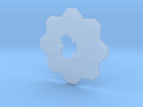 Pokemon badge in Smooth Fine Detail Plastic