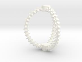 Cat Toy in White Processed Versatile Plastic