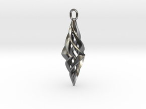 Vision Pendant (small) in Polished Silver