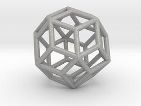 0303 Rhombic Triacontahedron E (a=1cm) #001 in Aluminum