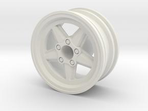 Ronal Crawler Rim in White Natural Versatile Plastic