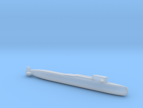 Yankee II - Class SSBN, Full Hull, 1/2400 in Smooth Fine Detail Plastic