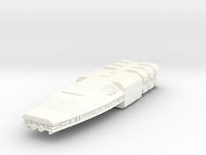 retribution in White Processed Versatile Plastic