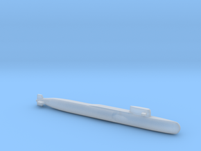 Yankee Notch - Class SSBN, Full Hull, 1/2400 in Smooth Fine Detail Plastic