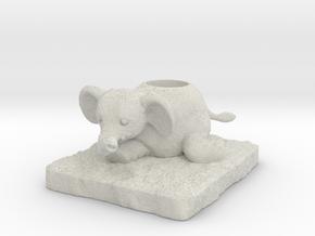 Elephant in Full Color Sandstone