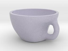 Tea Bowl in Full Color Sandstone