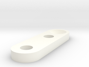 Xray - Serpent - Capricorn - Yokomo Universal Fron in White Strong & Flexible Polished