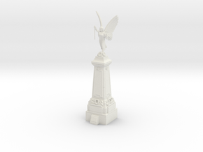 28/32mm War Memorial in White Natural Versatile Plastic
