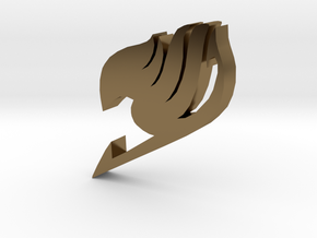 """Fairy Tail Symbol"" - A Monopoly Figure in Polished Bronze"
