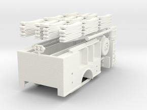 1/64 Satellite-Hose Wagon Body in White Processed Versatile Plastic